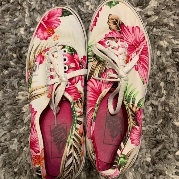 Vans Shoes - Floral Vans